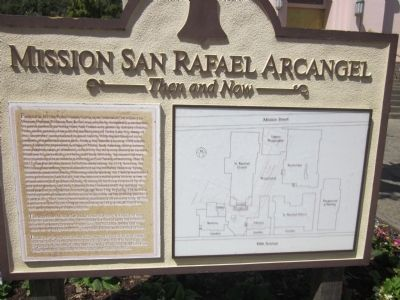 Mission San Rafael Arcangel Marker image. Click for full size.