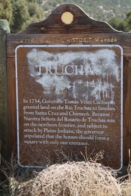 Truchas Marker image. Click for full size.