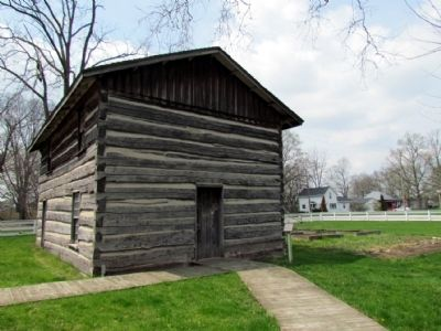 Murdock Log House c. 1830, Moved from Kephart Farm image. Click for full size.