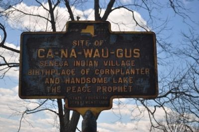 Ca-Na-Wau-Gus Marker image. Click for full size.