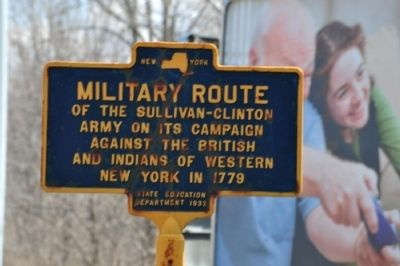 Military Route Marker image. Click for full size.