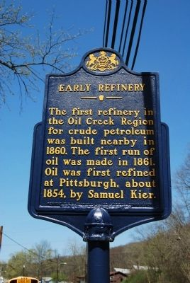 Early Refinery Marker image. Click for full size.