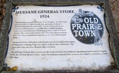 Mulvane General Store Marker image. Click for full size.
