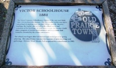 Victor Schoolhouse Marker image. Click for full size.
