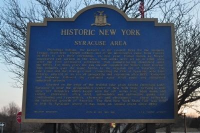 Syracuse Area Marker image. Click for full size.