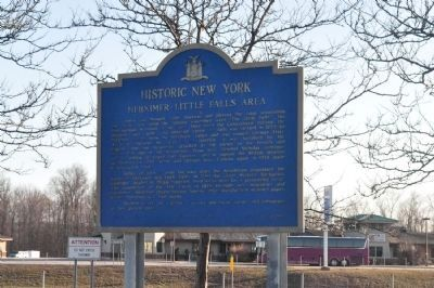 Herkimer Little Falls Area Marker image. Click for full size.