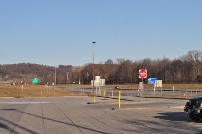 Facing the exit from the thruway image. Click for full size.
