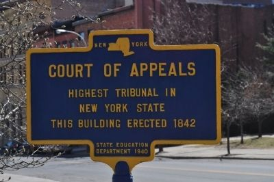 Court of Appeals Marker image. Click for full size.