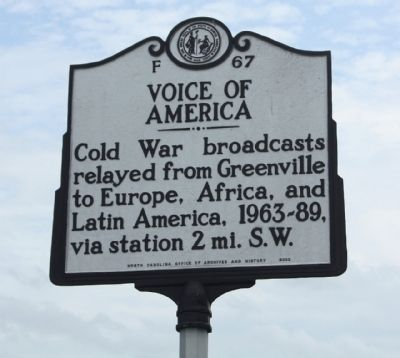 Voice Of America Marker image. Click for full size.