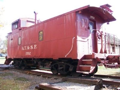 Santa Fe Caboose #1552 image. Click for full size.