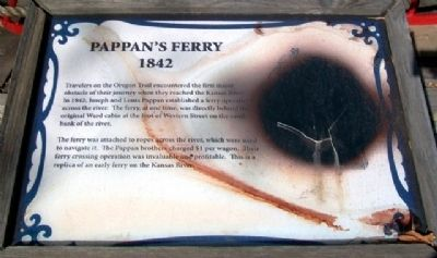 Pappan's Ferry Marker image. Click for full size.