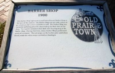 Barber Shop Marker image. Click for full size.