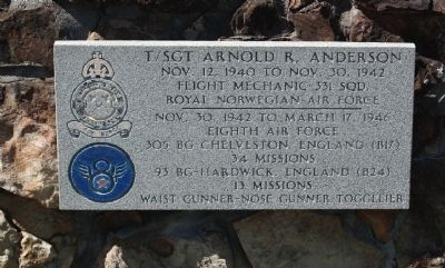 T/Sgt Arnold R. Anderson image. Click for full size.