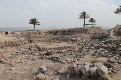 Megiddo Excavations image. Click for full size.