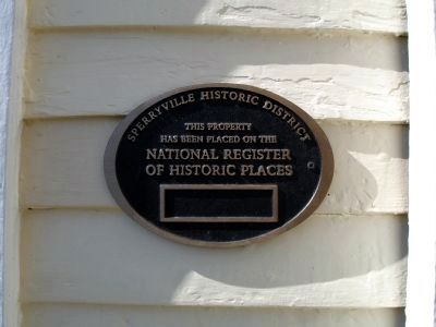 Plaque on Amiss House image. Click for full size.