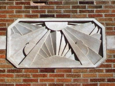 Sumner School Art Deco Detail image. Click for full size.