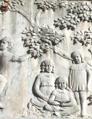 Sumner School Bas Relief Detail image. Click for full size.