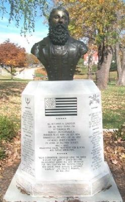 BG Benjamin H. Grierson Monument image. Click for full size.