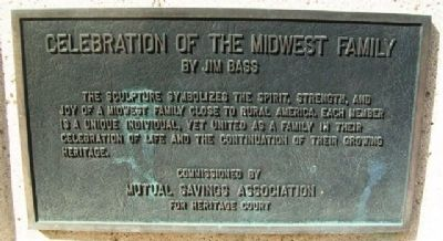 Celebration of the Midwest Family Marker image. Click for full size.