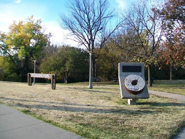 Founders Park Marker