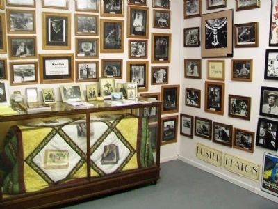 Part of the Buster Keaton Museum at Rural Water District 1 Office image. Click for full size.