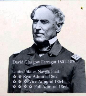 David Glasgow Farragut<br>1801-1870 image. Click for full size.