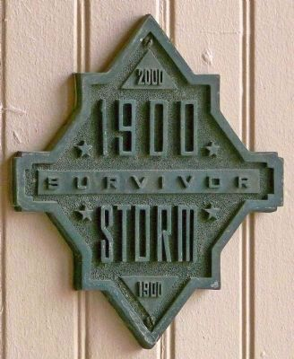1900 Storm Survivor Marker image. Click for full size.