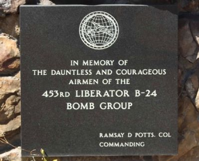 453rd Bomb Group Marker image. Click for full size.