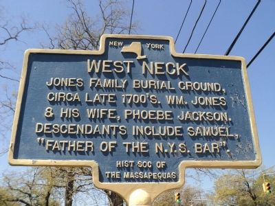 West Neck Marker image. Click for full size.