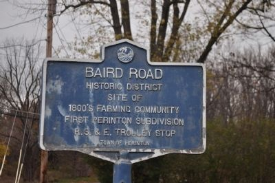 Baird Road Marker image. Click for full size.