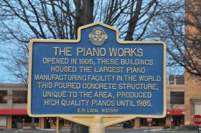 The Piano Works Marker image. Click for full size.