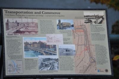 Transportation and Commerce Marker image. Click for full size.