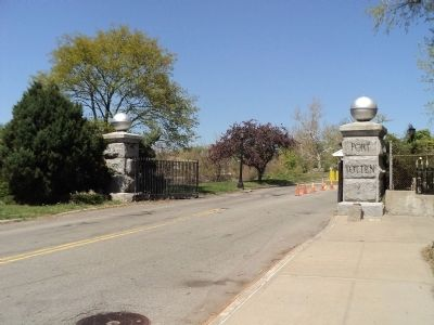 Entrance to Fort Totten Park image. Click for full size.