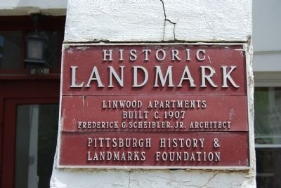 Linwood Apartments Marker image. Click for full size.