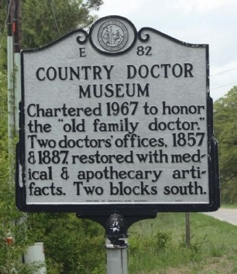 Country Doctor Museum Marker image. Click for full size.