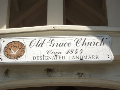 Old Grace Church Marker image. Click for full size.