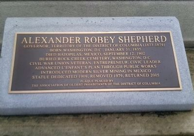 Alexander Robey Shepherd Marker image. Click for full size.