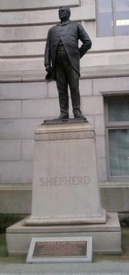 Alexander Robey Shepherd Monument image. Click for full size.