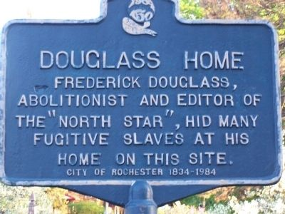 Douglass Home Marker image. Click for full size.