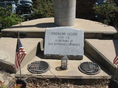American Legion Post 113 Memorial image. Click for full size.