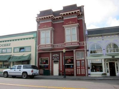The Palace Saloon, Built 1890 (353 Main Street) image. Click for full size.