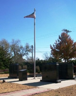 Comanche County Veterans Memorial image. Click for full size.