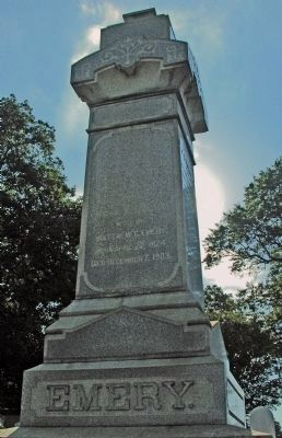 Grave of Matthew Gault Emory image. Click for full size.