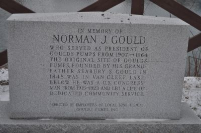 In Memory of Norman J. Gould Marker image. Click for full size.
