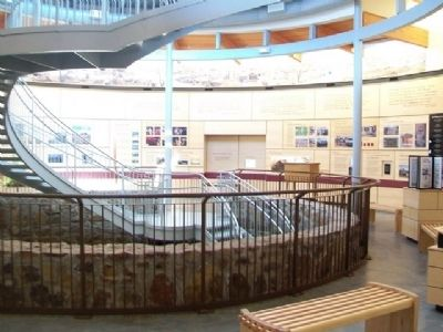 Big Well Museum Interior image. Click for full size.