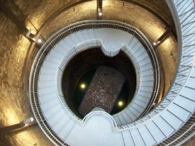 Looking Down Into the Big Well image. Click for full size.