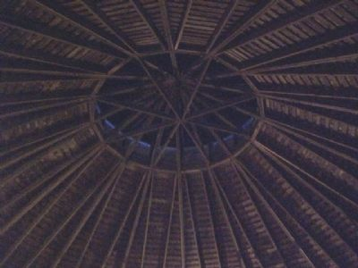 Fromme-Birney Barn Roof Interior image. Click for full size.