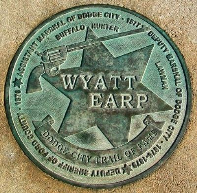 Wyatt Earp Marker image. Click for full size.