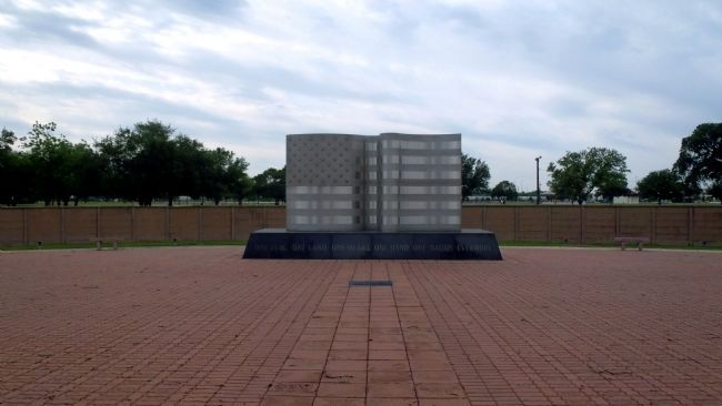 Memorial Park at the Kelly Air Force Base Marker image. Click for full size.