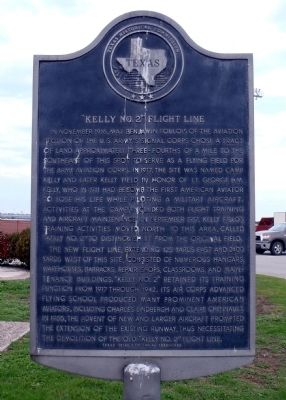 Kelly No. 2 Flight Line Marker image. Click for full size.